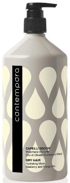 Barex Contempora Маска увлажняющая с маслом облепихи и маслом манго