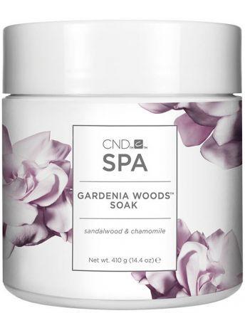 CND SPA Gardenia Woods Препарат для мацерации с содержанием морских солей Soak