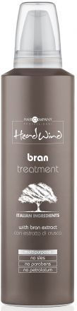 Hair Company Head Wind Мусс на основе рисовых отрубей BRAN TREATMENT