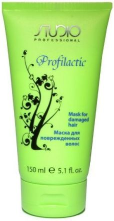 Маска для поврежденных волос profilactic kapous