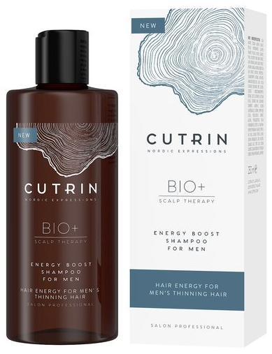 Cutrin Bio+ Energy Boost Шампунь-бустер для укрепления волос у мужчин