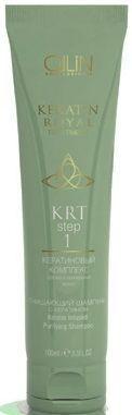 Ollin Keratin Royal Treatment Очищающий шампунь с кератином