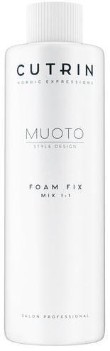 Cutrin Muoto Perm Пенный нейтрализатор для нормальных или трудно поддающихся завивке волос Foam Fix