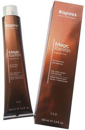 Kapous Magic Keratin Крем-краска для волос без аммиака