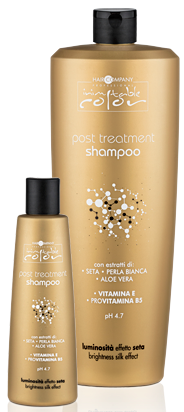 Hair Company INIMITABLE Color Шампунь стабилизирующий Post Treatment