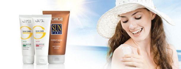 GIGI для лица и тела Sun Care - купить в интернет магазине