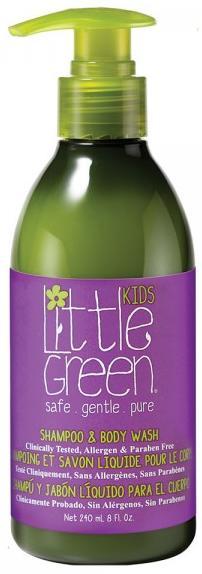 Little Green Kids Шампунь и гель для тела Без слёз 1+