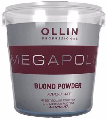 Ollin Megapolis Осветляющий порошок с аргановым маслом без аммиака