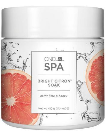 CND SPA Bright Citron Препарат для мацерации с морскими солями Soak