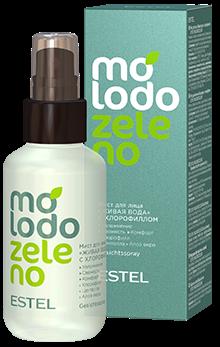 Estel Molodo Zeleno Мист для лица Живая вода с хлорофиллом