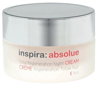 inspira absolue Обогащенный ночной регенерирующий лифтинг-крем Night Cream Rich