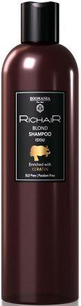 Egomania Richair Шампунь для осветлённых и обесцвеченных волос c кератином