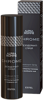 Estel Alpha Homme Chrome Дезодорант-спрей