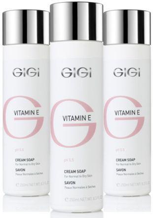 GIGI Vitamin E Жидкое крем-мыло для сухой и обезвоженной кожи