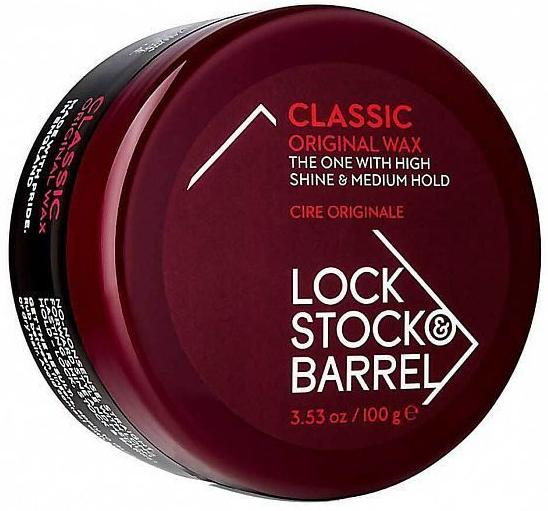 Lock Stock & Barrel Воск для классических укладок Original Classic Wax