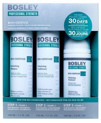 Bosley Defense Система ЗЕЛЁНАЯ для нормальных/тонких НЕОКРАШЕННЫХ волос