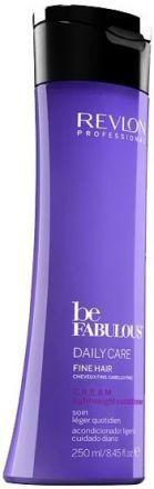 Revlon Be Fabulous Очищающий шампунь C.R.E.A.M. Ежедневный уход для тонких волос