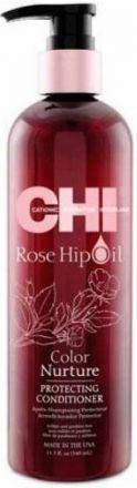 CHI Rose Hip Oil Кондиционер для волос с маслом лепестков роз