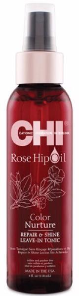 CHI Rose Hip Oil Несмываемый тоник питание цвета волос Color Nurture
