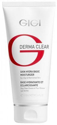 GIGI Derma Clear Skin Hydra basic moisturiser Увлажняющая база под макияж
