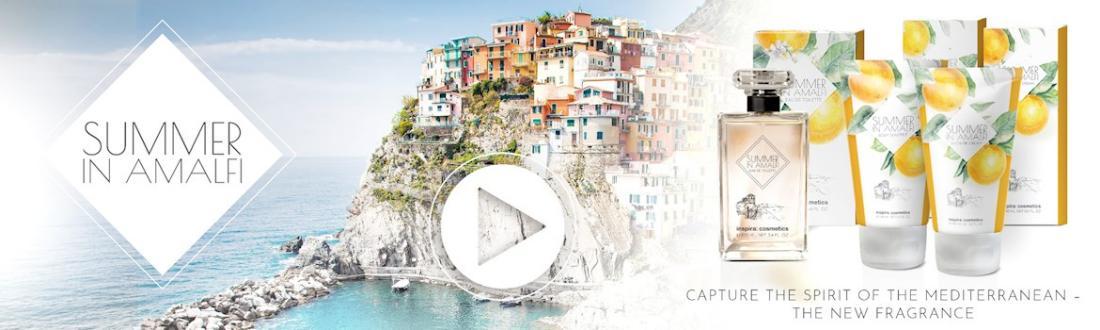 Inspira Cosmetics Summer in Amalfi