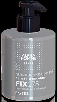 Estel Alpha Homme Style Гель для укладки волос лёгкая фиксация