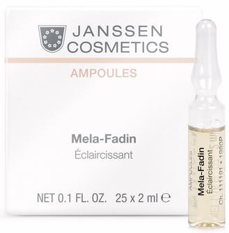 Janssen Осветляющие ампулы для лица Мela-Fadin