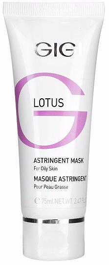 GIGI Lotus Beauty Astringent Mask Маска поростягивающая для жирной кожи