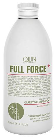 Ollin Full Force Очищающий шампунь для волос и кожи головы с экстрактом бамбука