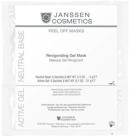 Janssen Ревитализирующая альгинатная гель-маска Revigoration Gel Mask