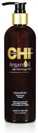 CHI Argan Oil Шампунь с маслом Арганы и маслом Моринга