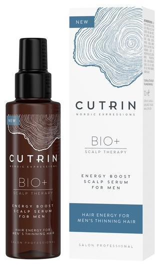 Cutrin Bio+ Energy Boost Сыворотка-бустер для укрепления волос у мужчин