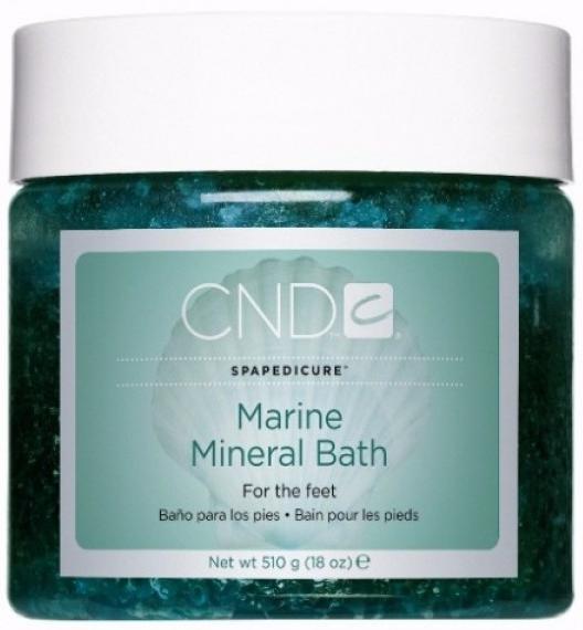 CND SPA Морской педикюр Смягчающая и увлажняющая соль Marine Mineral Bath
