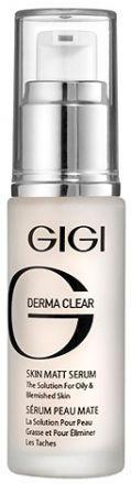 GIGI Derma Clear Serum skin matt Сыворотка матирующая