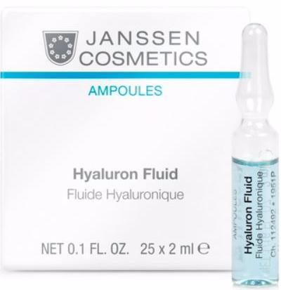 Janssen Ультраувлажняющая сыворотка с гиалуроновой кислотой Hyaluron Fluid