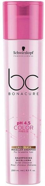 Schwarzkopf BC pH 4.5 Color Freeze Мицеллярный шампунь для волос с шоколадным оттенком
