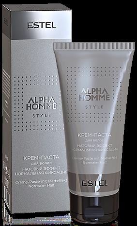 Estel Alpha Homme Style Крем-паста для волос с матовым эффектом