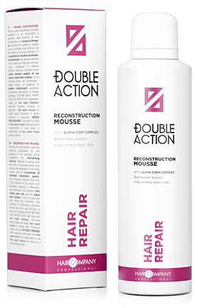 Hair Company Double Action Восстанавливающий мусс