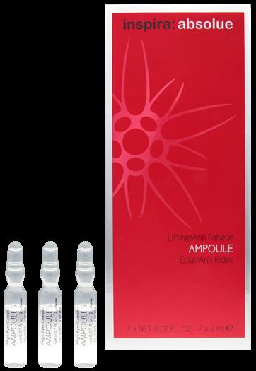 inspira absolue Ампулы для мгновенного лифтинга и сияния кожи Lifting Anti Fatigue