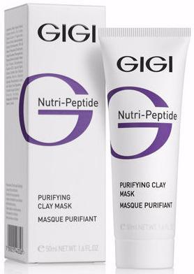 GIGI Nutri Peptide Очищающая глиняная маска для жирной кожи лица