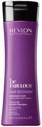 Revlon Be Fabulous Восстановление волос C.R.E.A.M. очищающий шампунь с кератином