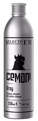 Selective Cemani Шампунь для устранения жёлтых оттенков Gray