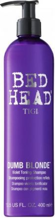 TIGI Colour Care Шампунь-корректор цвета Dumb Blonde Purple Toning Shampoo