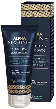 Estel Alpha Marine Гель для волос ультра сильная фиксация Slide