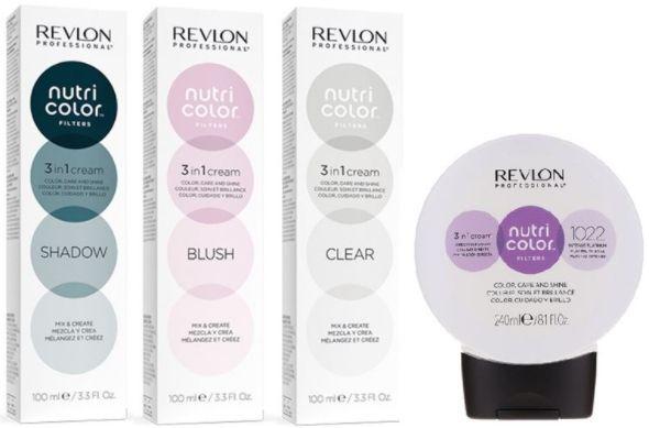 Revlon 100мл Прямой краситель без аммиака NUTRI COLOR FILTERS Специальные фильтры