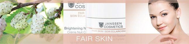 Janssen Cosmetics Fair Skin - купить в интернет магазине