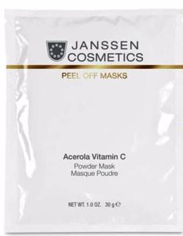 Janssen Розовая моделирующая маска с ацеролой и витамином С Acerola Vitamin C Mask