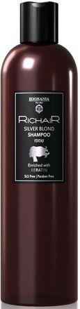 Egomania Richair Оттеночный шампунь для платиновых оттенков блонд c кератином