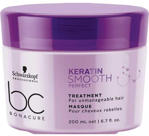 Schwarzkopf BC Keratin Smooth Perfect Маска для гладкости волос