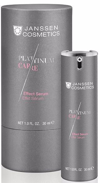 Janssen Platinum Care Реструктурирующая сыворотка Effect Serum
